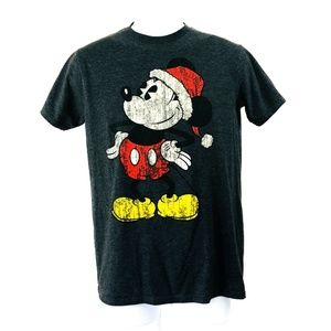 Mickey Mouse Christmas Disney T-Shirt Medium